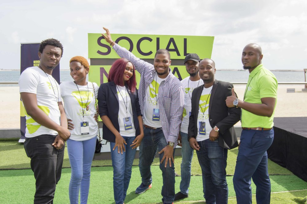 The Jara Team at SMWLagos 2018