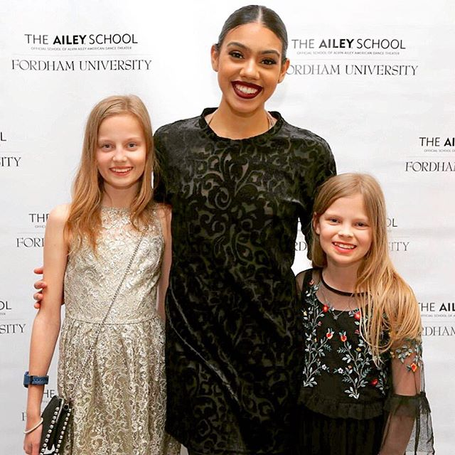 One of the thrills of living in NYC is the exciting talent in your community. Children grow up surrounded by, supported by and inspired by incredible talent. One of our family blessing is sharing time with the incredible people who are the Ailey Fordham BFA dancers. ❤️#aileyfordhambfa #feelthelove #liveyourpassion #supportthearts #liveyourbestlife