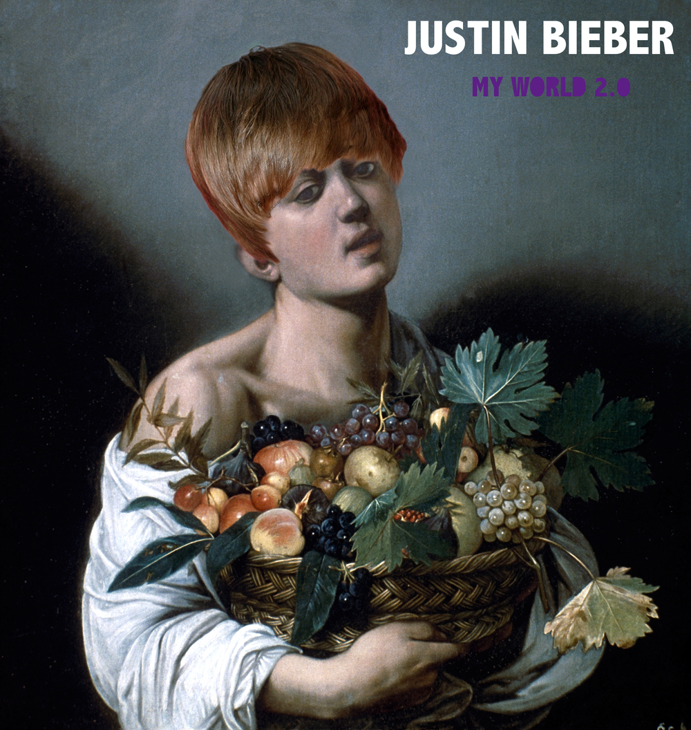 Boy Singer with a Basket of Fruit