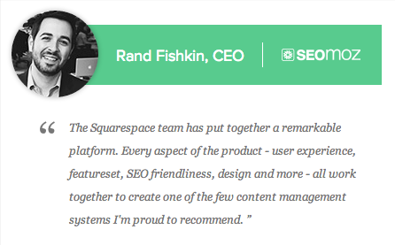 rand fishkin on squarespace