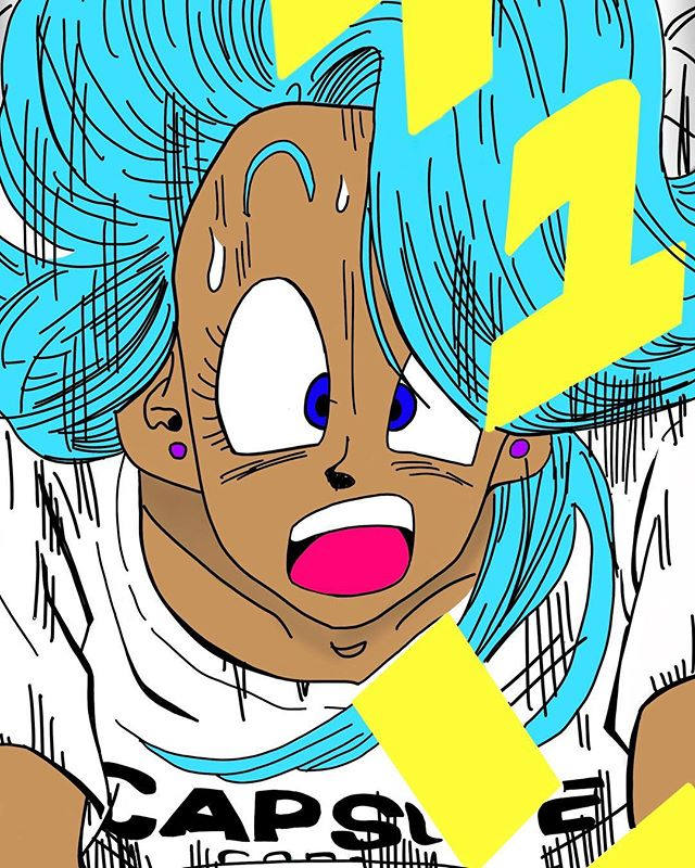 BAD GYAL BULMA 3 of 3 I know this one took forever but I haven't been drawing as much as I should be. I plan on changing that as I am working on a longer more in depth series. I want to share more of my experiences, thoughts and feelings with the world. It always feels better to create art that an audience can connect to rather than material that will garner attention. With that being said it's been an interesting past 3 months. Sometimes it's tiring chasing my dreams. Sometimes the rose has a hard time growing from the concrete. I hope to create the ideal environment for my passion, my happiness and my well being to thrive. It's so easy to criticize or asses others based on what is on the surface level. My positive affirmation for tonight is to be the love and light I wish to see in the world.