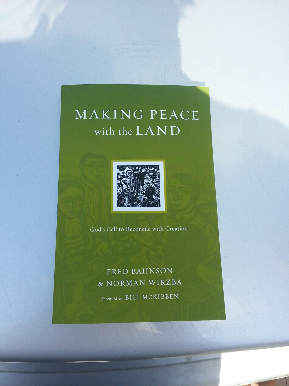 Making Peace With the Land can be found on all major bookstore websites including amazon.com