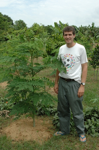David Strong - moringa project, Cambodia
