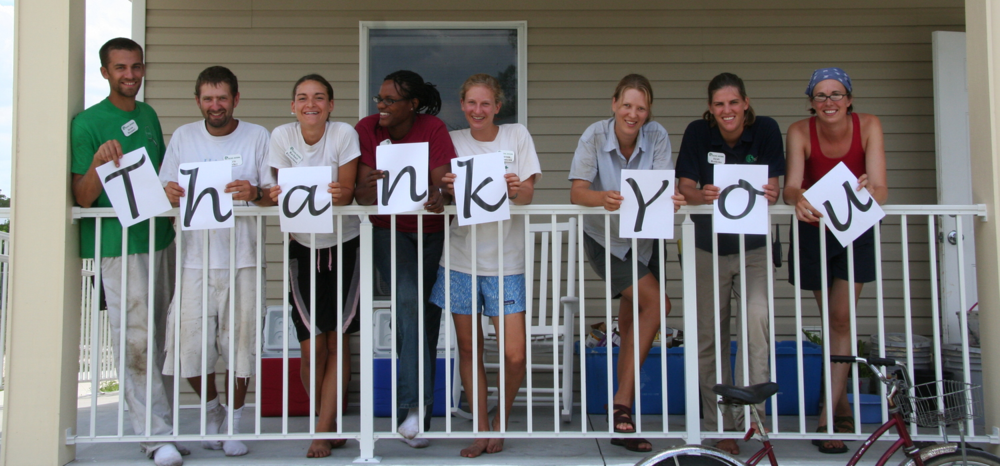 "ECHO Interns take a break from their regular work to say ""Thank You!"""