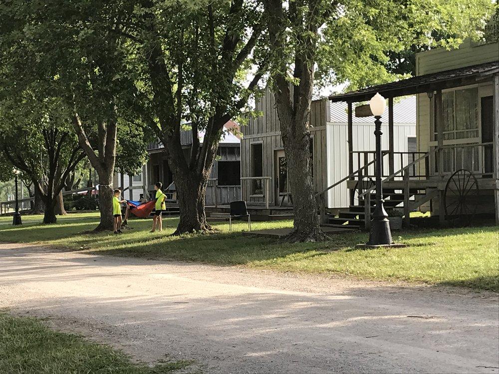 Frontier Village in Adrian, MO
