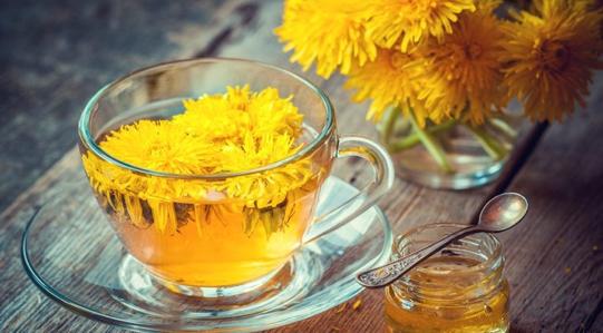 Homegrown Dandelion-Ginger Tea - BEVERAGE