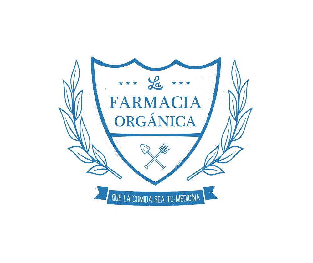 La Farmacia Organica    Logo Design  Role: Design 2015