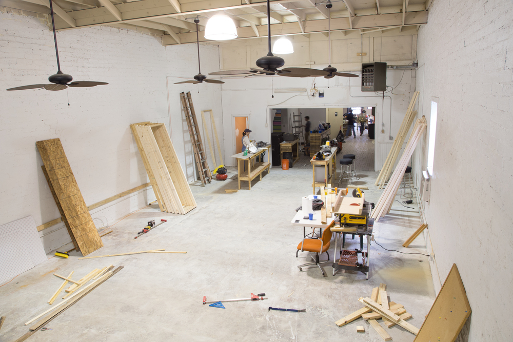 Future Retail Space for The Knox Heritage Art & Salvage Shop Photo by Matt Higginbotham