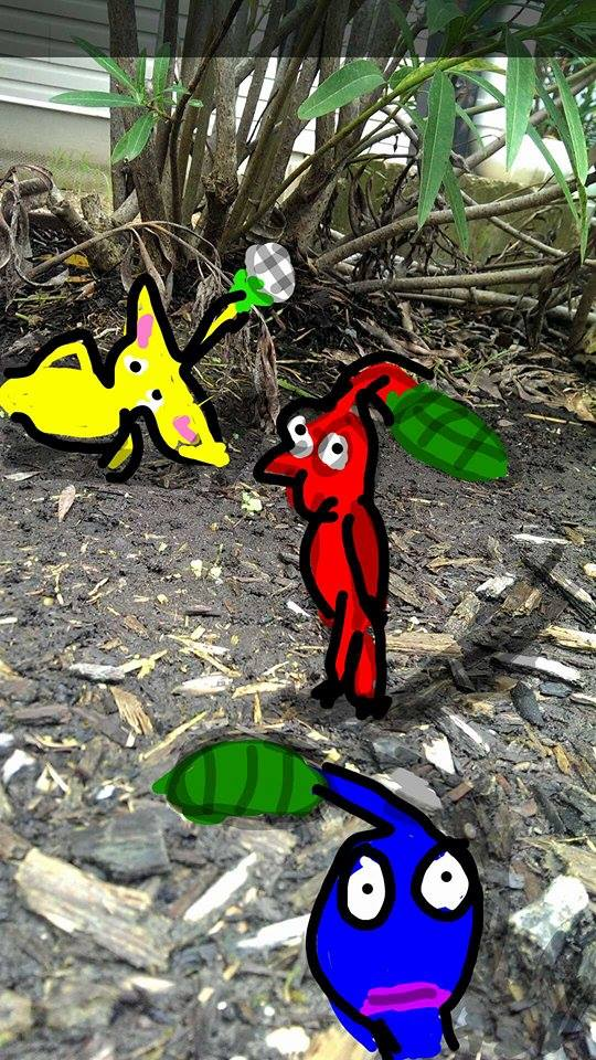 A Sunday Afternoon on the Planet of Pikmin