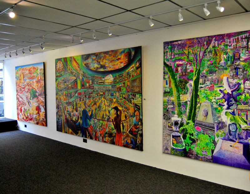 September 2012, Exhibition in L'artishe Gallery