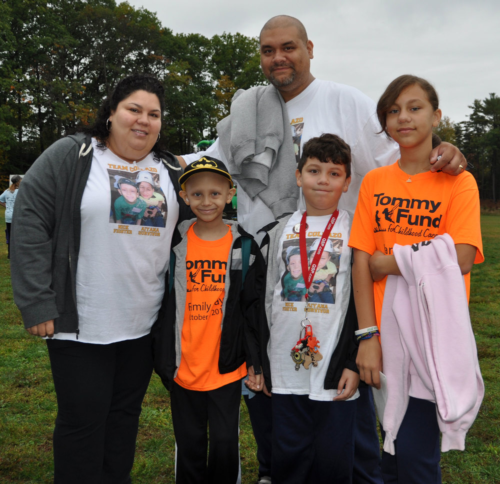 The Collazo Family, children Nicholas, Aiyana, Julian and parents Lillian and Luis enjoyed all the activities at Family Day.