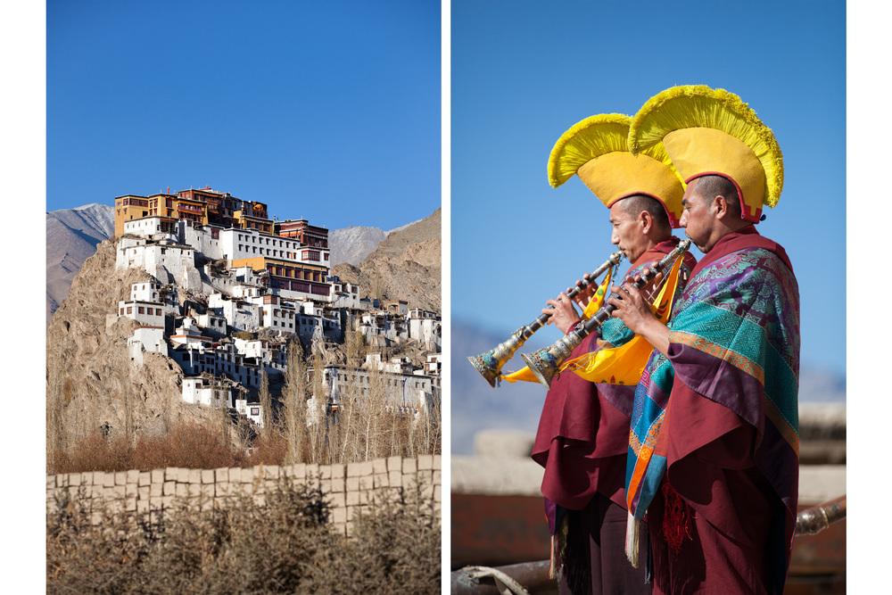 India-Ladakh-Travel-Leh-Thiksey-Buddhist-Monastery-Monk-Pujal.JPG