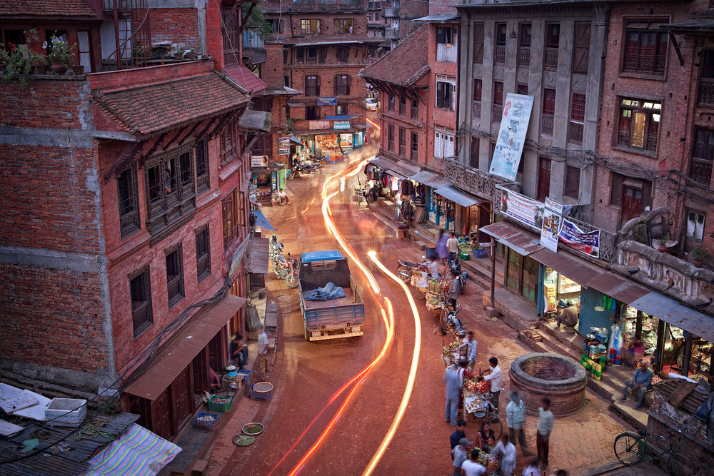 Nepal-Bhaktapur-Travel-Village-Night.JPG