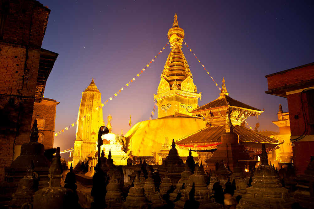Nepal-Kathmandu-Travel-Swayambhunath-Buddhism-Temple-Night-Jason-Bax.JPG