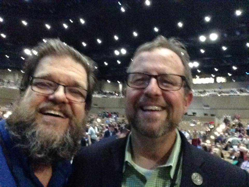 Scott Kalas (left) Founder/Steward SOCPM & Michael Horton (right) President White Horse Inn - Editor in Chief Reformation Magazine - Professor Apologetics & Theology Westminster Seminary California