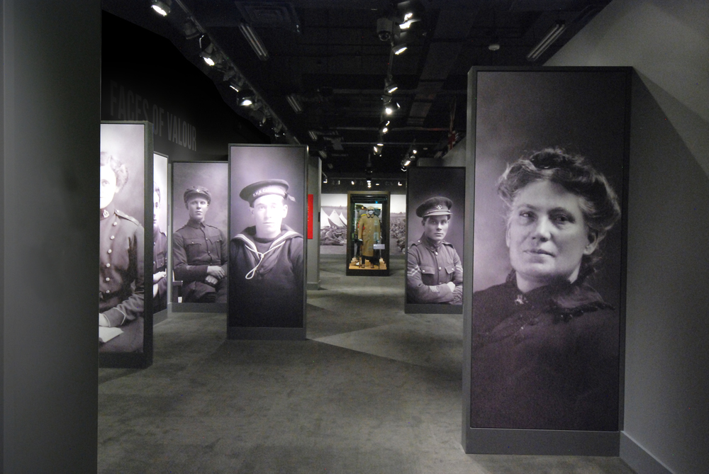 The exhibition features the faces and voices of the people of Newfoundland and Labrador.