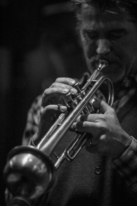 Jazzman at Nublu jazz club in east village