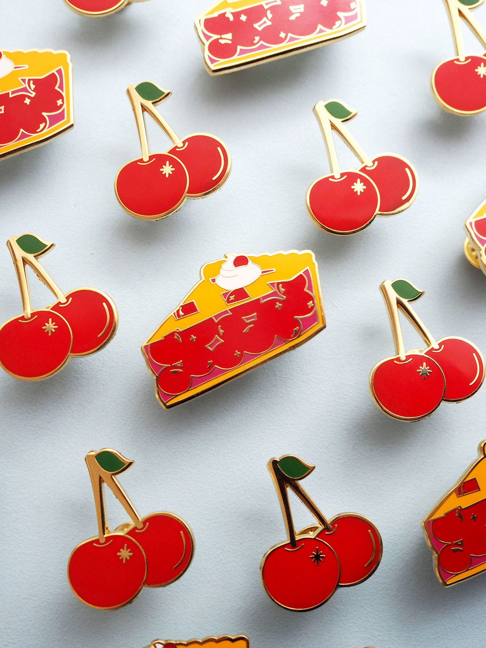 cherry pie pins