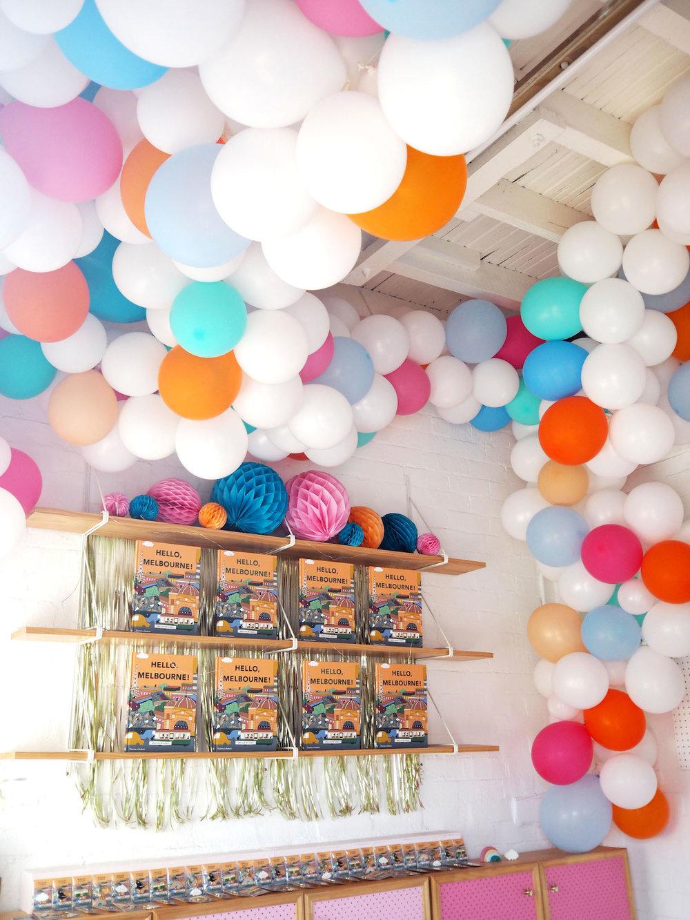 HelloMelbourne_BalloonInstallation