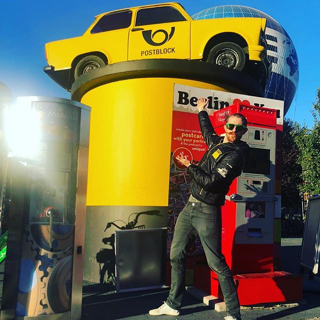 @project1_93 If the RSR ends up not working out for the WEC program next year, I think I found a backup car for you guys yesterday in Berlin! 😂 #trabant #deutschepost #superfast #booyah #nextlevel