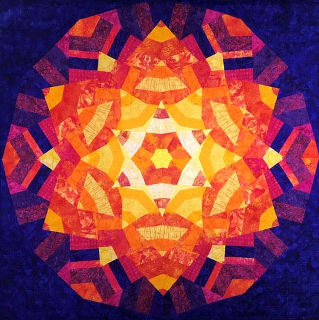Congratulations to our members, Ginny Flock and Barb Jolley for the quilt Sunstruck which has been chosen as a semi finalist in the 2019 AQS Quilt Week in Paducah this month, April 24-27. Village Quilters members are proud of your creativity and skill in creating this work. We wish you the best of luck in the final judging.
