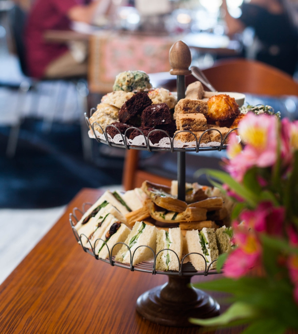 Rustic Tiered Platters
