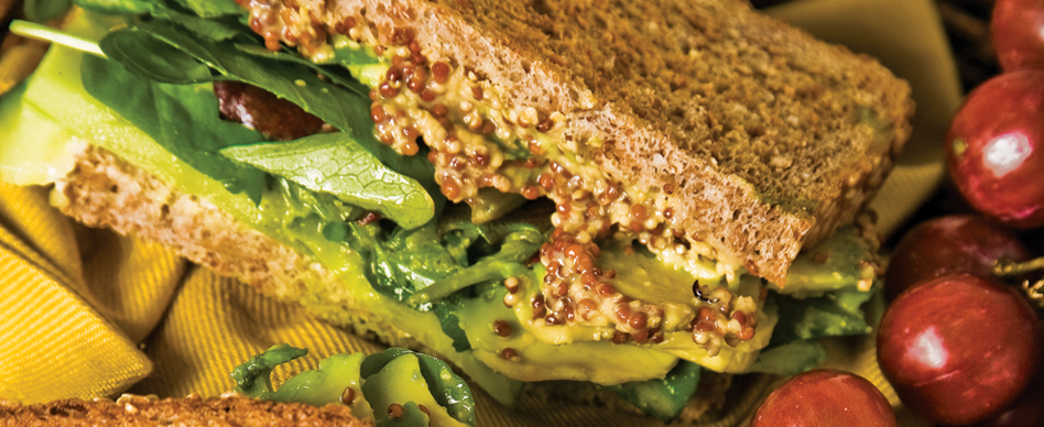 Cucumber Watercress Sandwich with Presto Pesto Dressing from No Sweeter Than The Ripest Cherry,Issue One: Fall