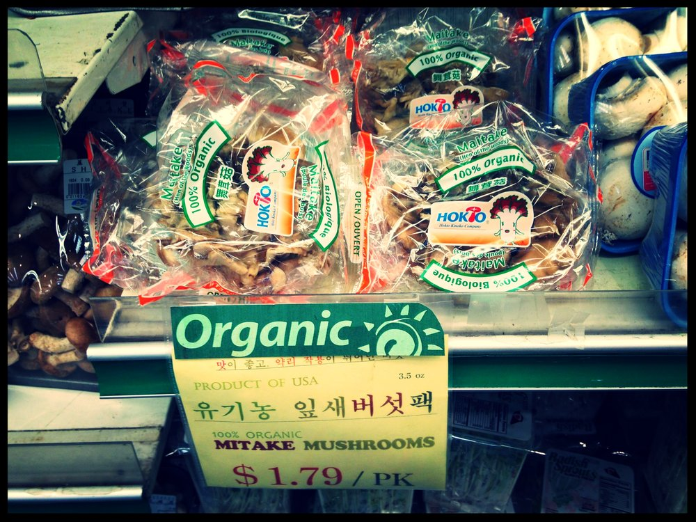 "A reason to ""maitake"" at Greenland Market in Van Nuys, CA"