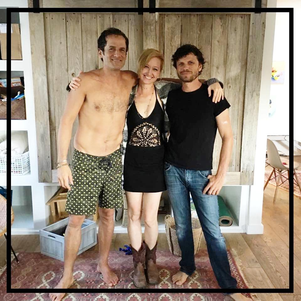 Damian Chaparro, Suzie Bohannon, Waska Lamb. Three is Good Company! Malibu, 2016