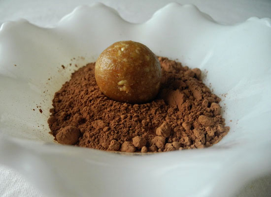 Recipe for traditional rum balls via Jennifer E. Snyder
