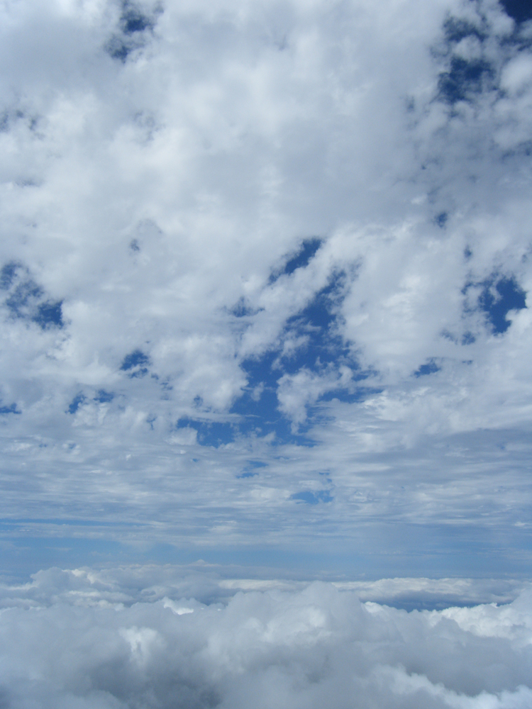 The amazing weather at the summit in Haleakala National Park - 2008