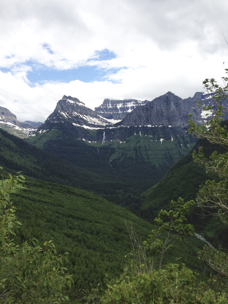 Unbeatable views from the Going-to-the-Sun Road in Glacier National Park - 2013