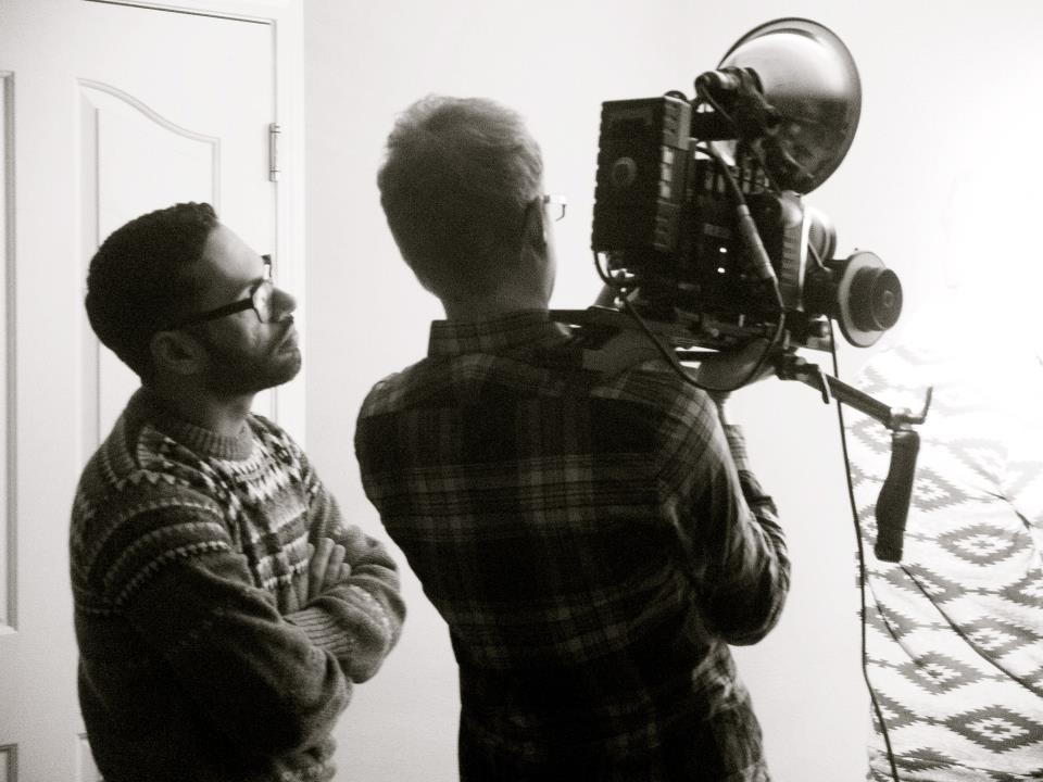 Directing DLRN's Fear and Loathing music video.