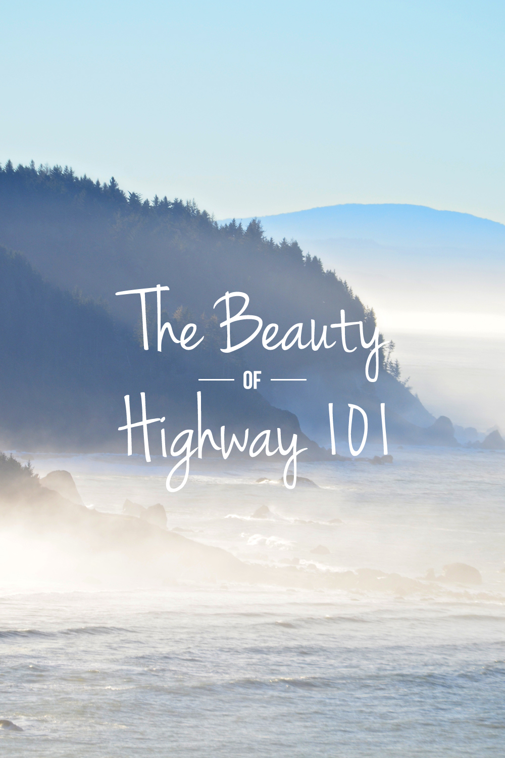 The beauty of Highway 101 in Del Norte County, California