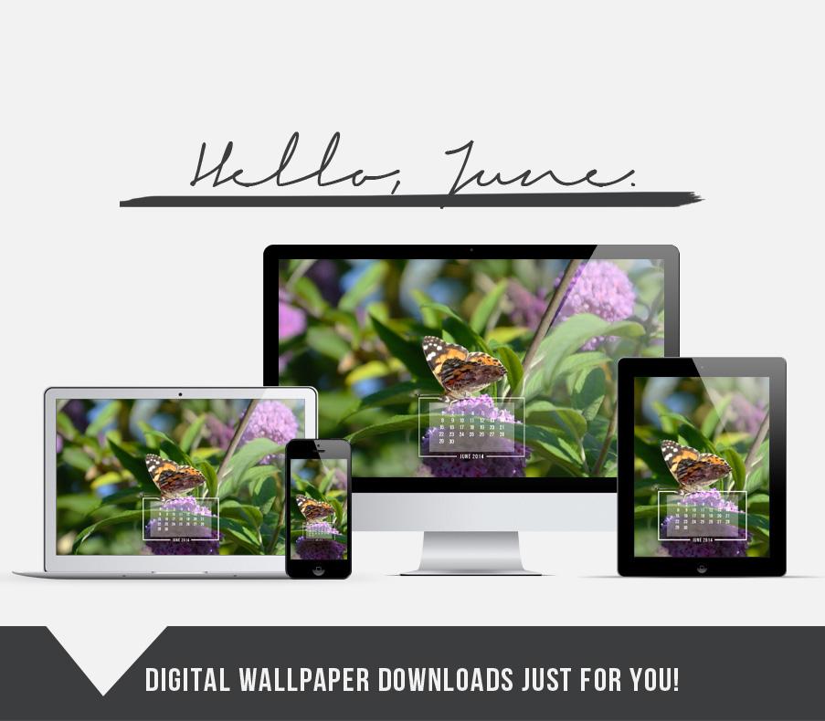 Free Digital Wallpaper Download — June 2014 — http://jenniferesnyder.com