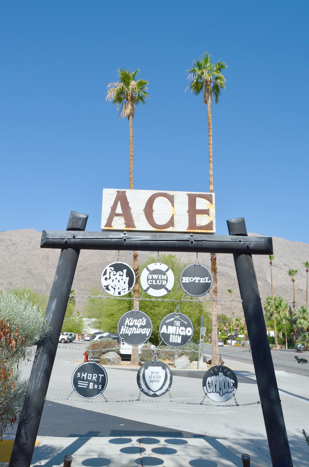 Palm Springs, California // The Ace Hotel