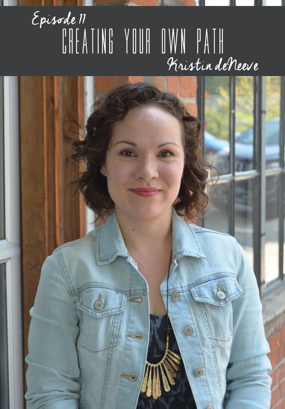 Kristin deNeeve //Illustrator + Graphic Designer+Shop Owner