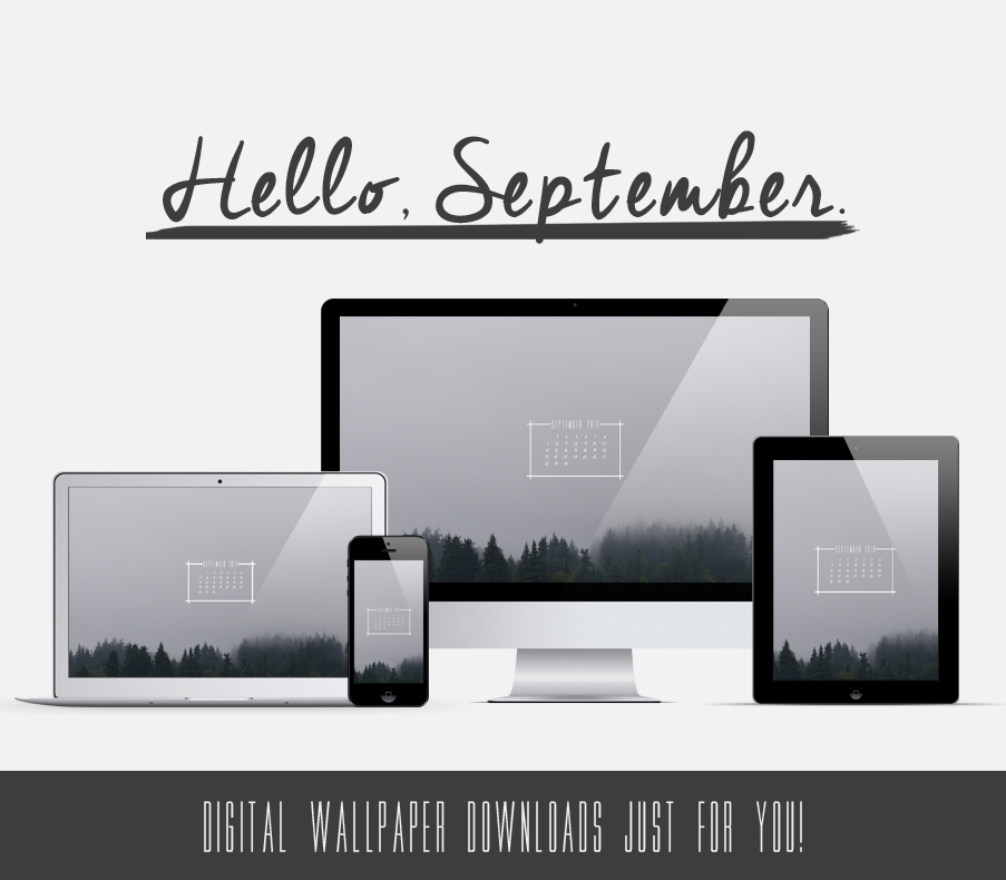 FREE Digital Wallpaper Download // September 2014 // jenniferesnyder.com