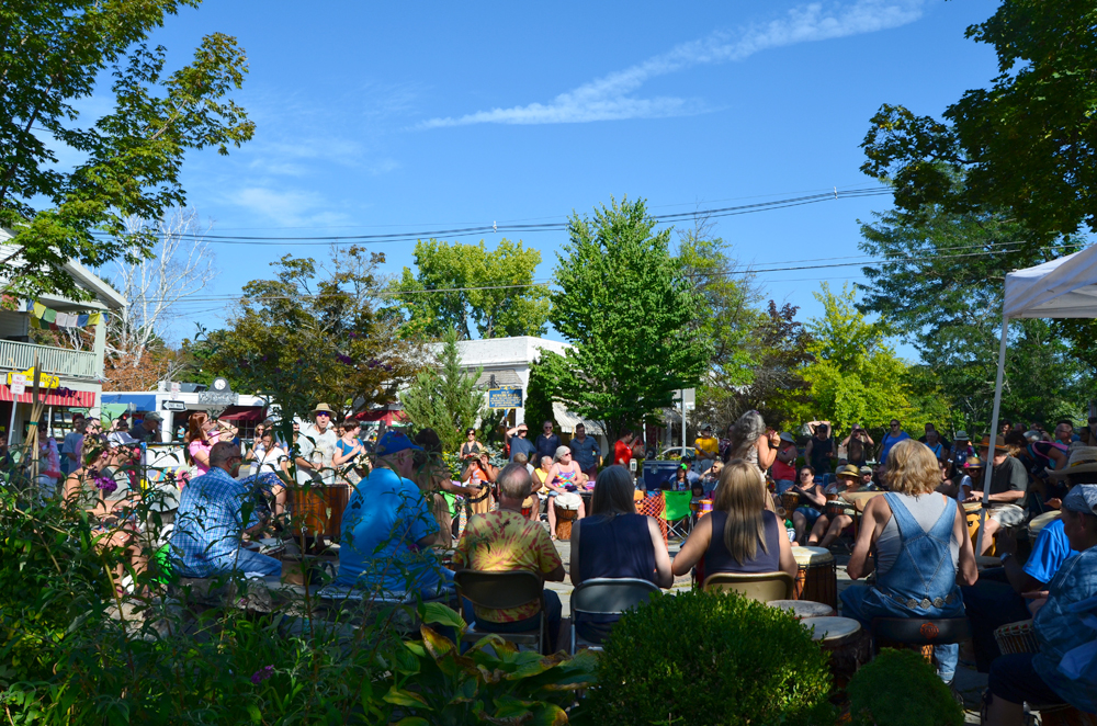 The Woodstock Drum Circle / Woodstock, NY