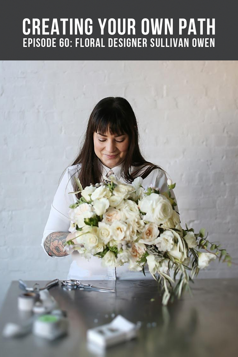 Floral Designer Sullivan Ownen // Photo:  Alison Conklin