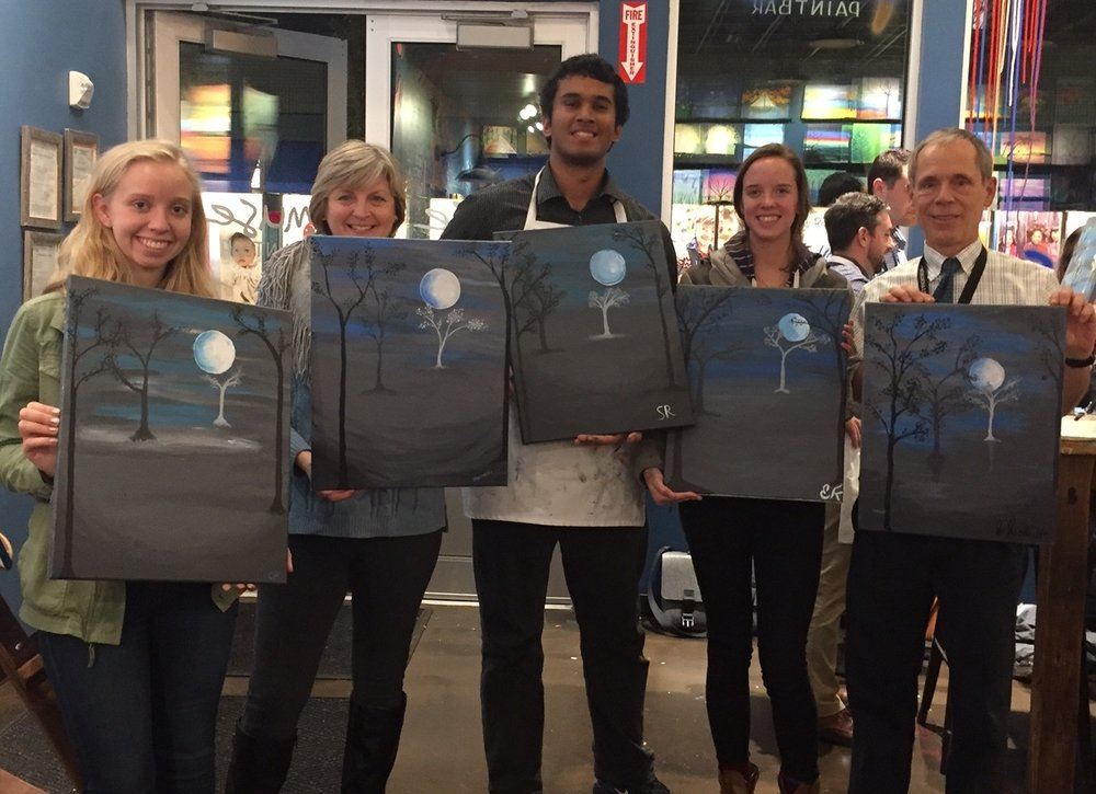 """LITTLE SPARROWS TECHNOLOGIES """"SUSHI AND PAINT NIGHT"""" - OCTOBER 27, 2016"""