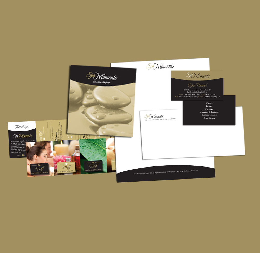 Spa Moments Collateral