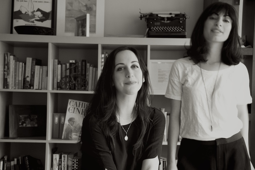 Roja Gashtili and Julia Lerman - Screenwriters - taken in NYC