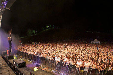 Coromandel Gold's 12,500 celebrate the turn of the new year 2012/13 to the sound of KORA