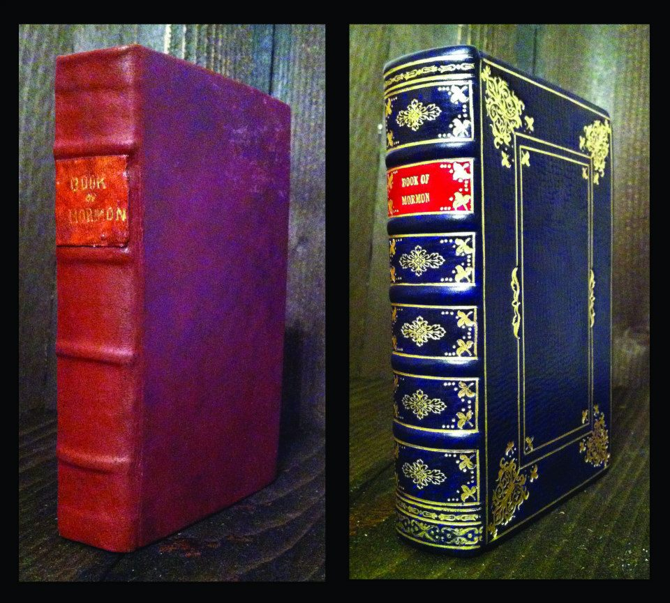 1876 Book of Mormon Rebinding