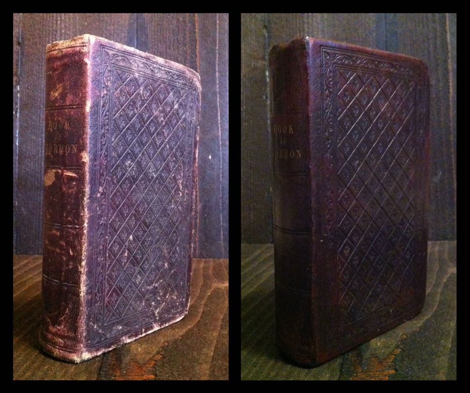 1852 Book of Mormon.