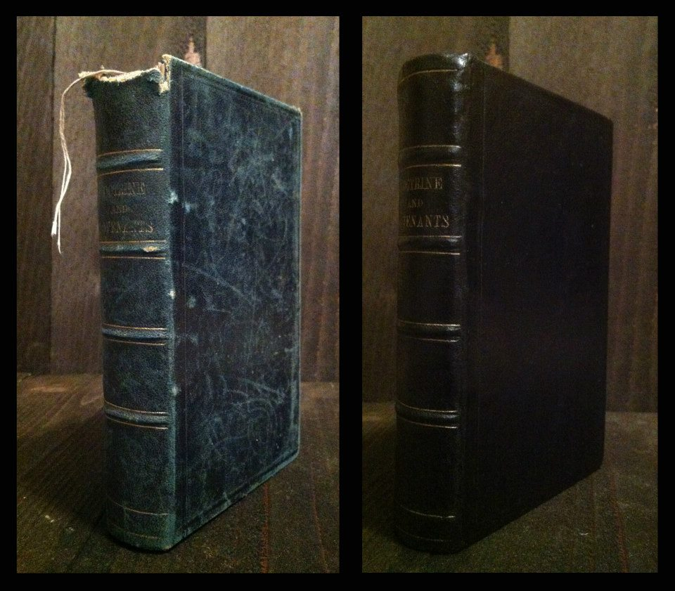 1876 D&C before and after restoration.