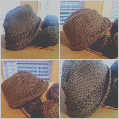 Pattern Crochet Fedora Eidolon House