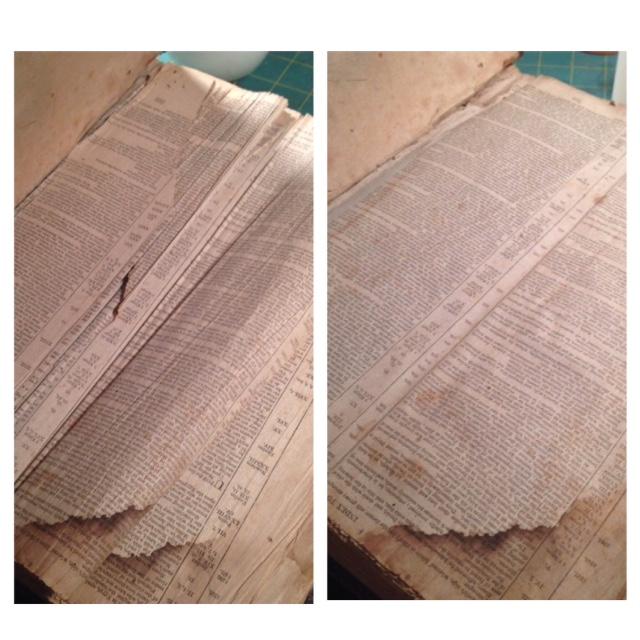 1829 Coopers Town Bible Flattening 1.JPG
