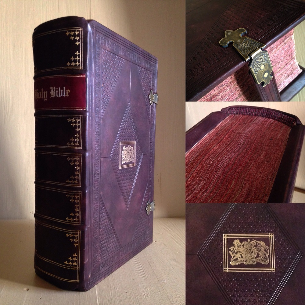 "1611/13 ""She"" KJV Bible. Historical Rebind."